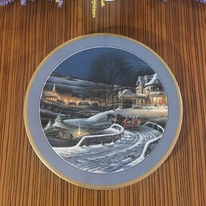 Terry Redlin Family Traditions Collectors Plate